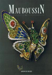 多数のジュエリーの写真と共に、モーブッサン社の歴史について詳しく書かれた本 (1992年刊行)
