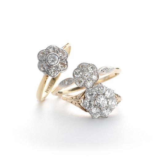 ダイヤモンド・クラスターリングコレクション